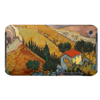 Landscape with House and Ploughman, 1889 iPod Touch Case