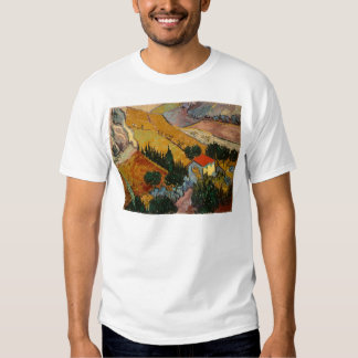 Landscape with House and Ploughman, 1889 T Shirt