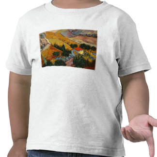 Landscape with House and Ploughman, 1889 Tshirt