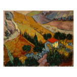 Landscape with House and Ploughman Poster