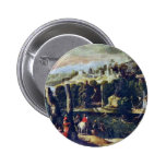 Landscape With Ladies And Knights By Nicolã² Dellâ Pin