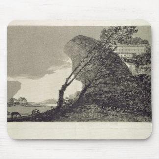 Landscape with Large Rocks Mouse Pad