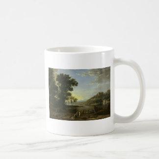 Landscape with Merchants - Claude Lorrain Coffee Mug