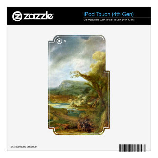 Landscape with Obelisk by Rembrandt iPod Touch 4G Skin