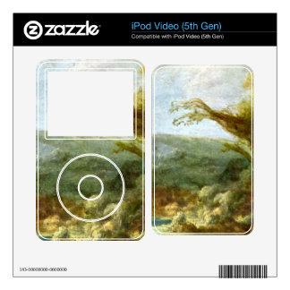 Landscape with Obelisk by Rembrandt iPod Video 5G Decals