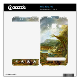 Landscape with Obelisk by Rembrandt Decal For The HTC Evo 4G