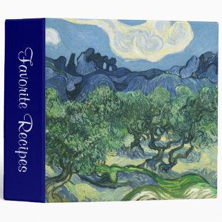 Landscape with Olive Trees, Vincent Van Gogh Binder