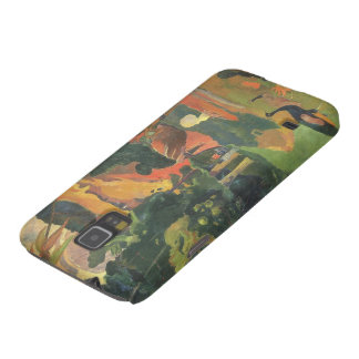 Landscape with Peacocks by Paul Gauguin Galaxy S5 Cases