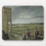 Landscape with Peasants, c.1640 Mouse Pad