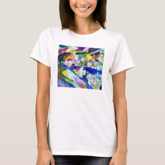 Landscape with Rain by Wassily Kandinsky T-Shirt