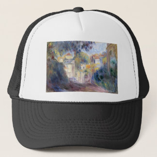 Landscape with Red Roofs by Pierre-Auguste Renoir Trucker Hat