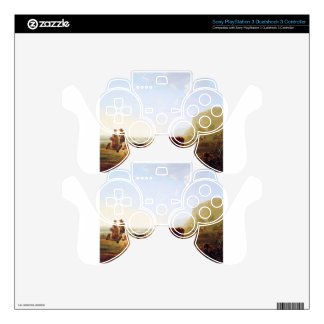 Landscape with resting cows by Jacob van Strij Skin For PS3 Controller