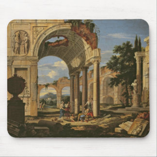 Landscape with Ruins, 1673 Mouse Pad