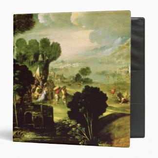 Landscape with Saints, 1520-30 3 Ring Binder