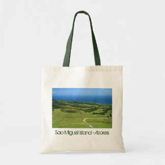 Landscape with small crater tote bags