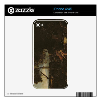 Landscape with St. Jerome Decal For The iPhone 4S