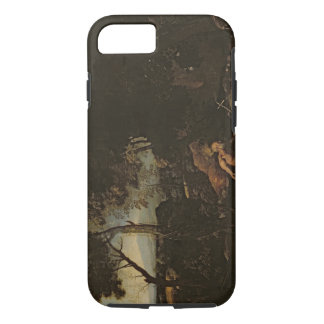 Landscape with St. Jerome iPhone 7 Case