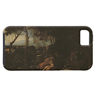 Landscape with St. Jerome iPhone SE/5/5s Case