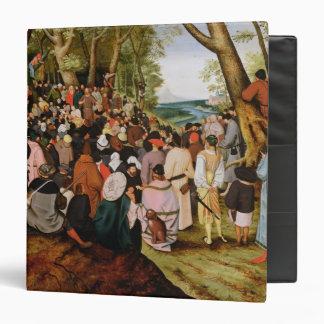 Landscape with St. John the Baptist Preaching Binder