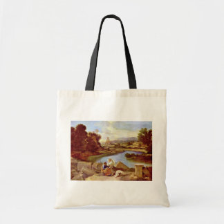 Landscape With St Matthew By Poussin Nicolas Bags