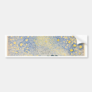 Landscape with Stars Bumper Sticker