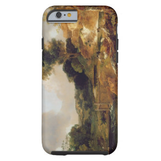 Landscape with Stream and Weir (oil on canvas) Tough iPhone 6 Case