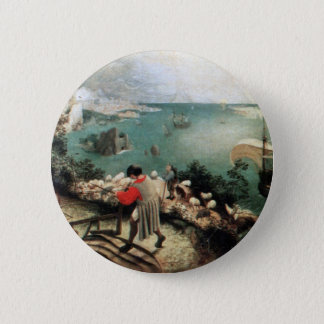 Landscape with the Fall of Icarus - 1558 Button