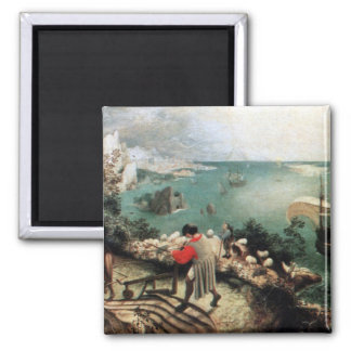 Landscape with the Fall of Icarus - 1558 Magnet