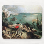 Landscape with the Fall of Icarus - 1558 Mouse Pad