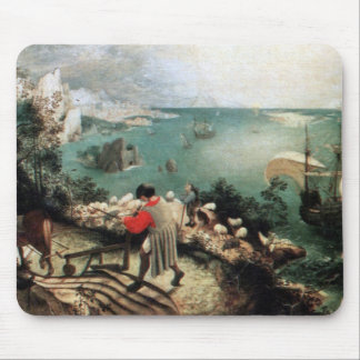 Landscape with the Fall of Icarus - 1558 Mousepad