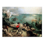 Landscape with the Fall of Icarus - 1558 Postcards