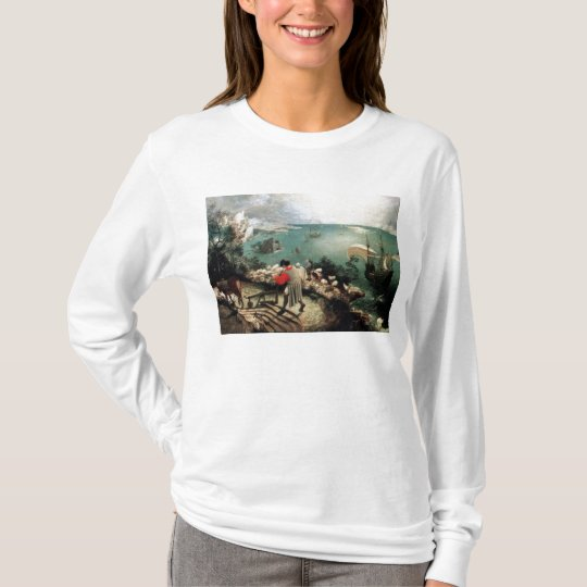 Landscape with the Fall of Icarus - 1558 T-Shirt