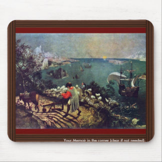 Landscape With The Fall Of Icarus By Bruegel D Ä Mouse Pad