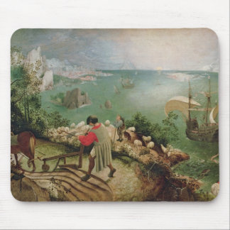 Landscape with the Fall of Icarus c 1555 Mouse Pad