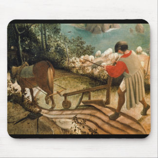 Landscape with the Fall of Icarus Mouse Pad