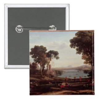 Landscape with the Marriage of Isaac Button