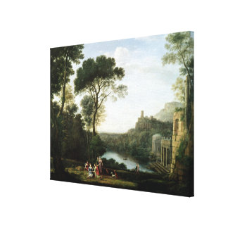 Landscape with the Nymph Egeria Canvas Prints