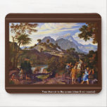 Landscape With The Scouts From The Promised Land B Mousepad