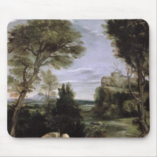 Landscape with Tobias laying hold of the Fish Mouse Pad
