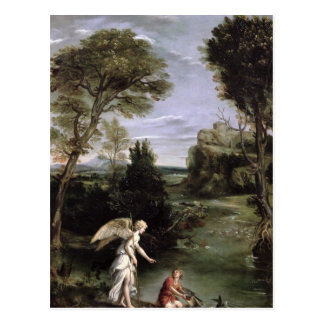 Landscape with Tobias laying hold of the Fish Post Cards