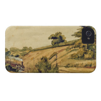 Landscape with Train, 1854 (w/c and pencil on pape Case-Mate iPhone 4 Case