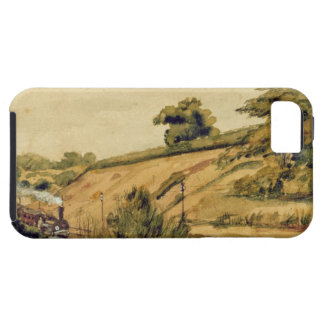 Landscape with Train, 1854 (w/c and pencil on pape iPhone SE/5/5s Case