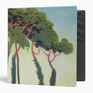 Landscape with Trees, 1911 Binder