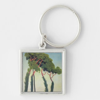Landscape with Trees, 1911 Keychain