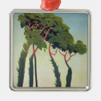 Landscape with Trees, 1911 Metal Ornament