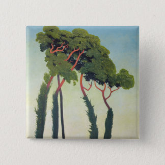 Landscape with Trees, 1911 Pinback Button