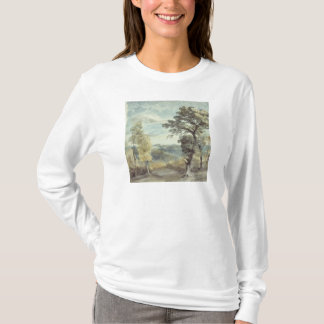 Landscape with Trees and a Distant Mansion T-Shirt