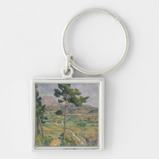 Landscape with viaduct keychain