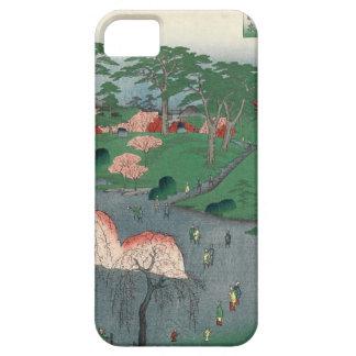 Landscaped garden of Higure village temple iPhone SE/5/5s Case