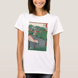 Landscaped garden of Higure village temple T-Shirt